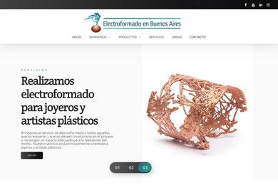 Website electroformadoba.com