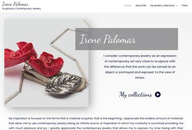 Sitio web Irene Palomar