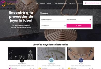 Sitio web Mercado Joyero