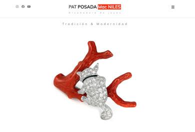 Sitio web de Patricia Posada