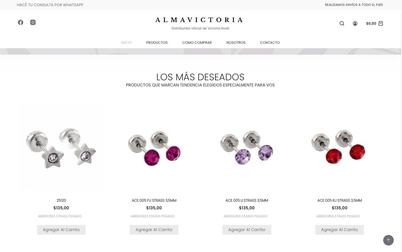 Tienda online - Almavictoria